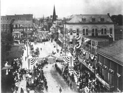 1905 Harrisonburg Fire Parade