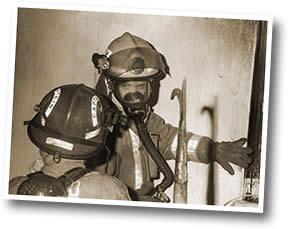 Old Firefighter Photo