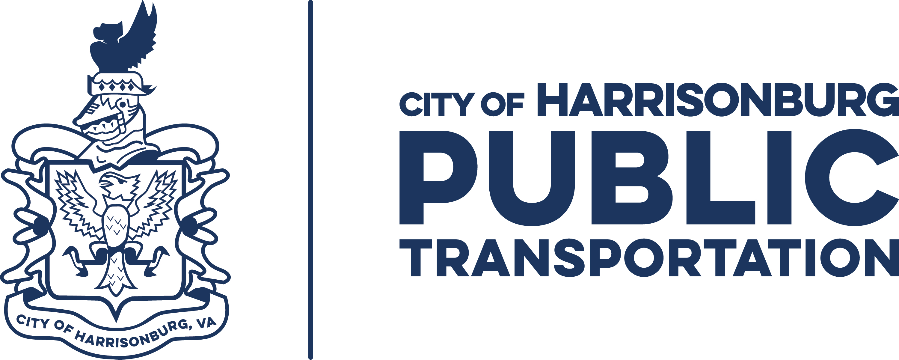 Harrisonburg Department of Public Transportation logo